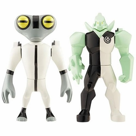 Ben 10 Alien Creation Chamber Mini Figure 2-Pack Diamondhead & Grey Matter
