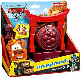 Disney / Pixar CARS 2 Movie Imaginext Exclusive Mater & Gong