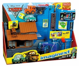 Disney / Pixar CARS 2 Movie Imaginext Exclusive Tokyo & Villain Playset