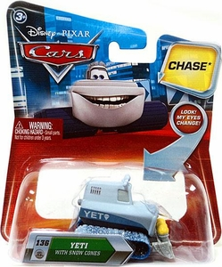 Disney / Pixar CARS Movie 1:55 Die Cast Car with Lenticular Eyes Series 2 Yeti with Snow Cones Chase Piece!