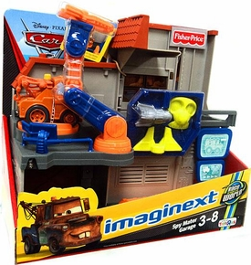 Disney / Pixar CARS 2 Movie Imaginext Exclusive Spy Mater Garage