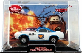 Disney / Pixar CARS 2 Movie Exclusive 1:43 Die Cast Car In Plastic Case Stars Chase Piece Patrol Finn McMissile