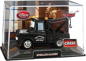 Disney / Pixar CARS 2 Movie Exclusive 1:43 Die Cast Car In Plastic Case Stealth Mater {All Black} Chase Edition!