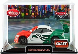 Disney / Pixar CARS 2 Movie Exclusive 1:43 Die Cast Car In Plastic Case Memo Rojas Jr. Chase Edition!