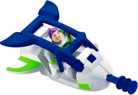Imaginext Disney / Pixar Toy Story 3 Figure Buzz Lightyear with Spaceship