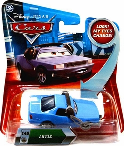 Disney / Pixar CARS Movie 1:55 Die Cast Car with Lenticular Eyes Series 2 Artie