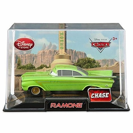 Disney / Pixar CARS 2 Movie Exclusive 1:43 Die Cast Car In Plastic Case Green Ramone Chase Edition!