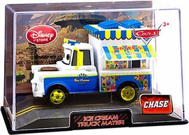 Disney / Pixar CARS 2 Movie Exclusive 1:43 Die Cast Car In Plastic Case Ice Cream Truck Mater Chase Edition!