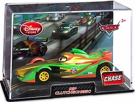 Disney / Pixar CARS Movie Exclusive 1:43 Die Cast Car In Plastic Case Rip Clutchgoneski [Metallic]