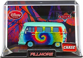 Disney / Pixar CARS 2 Movie Exclusive 1:43 Die Cast Car In Plastic Case Fillmore [Chase Edition]