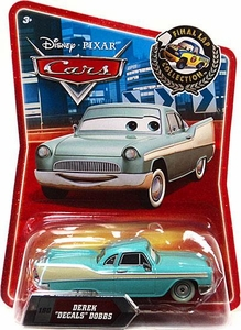Disney / Pixar CARS Movie Exclusive 1:55 Die Cast Car Final Lap Derek Decals Dobbs