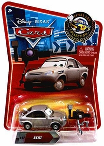Disney / Pixar CARS Movie Exclusive 1:55 Die Cast Car Final Lap Bert the Reporter
