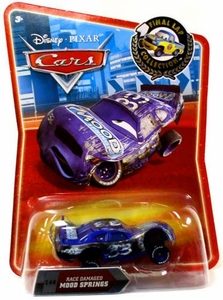 Disney / Pixar CARS Movie Exclusive 1:55 Die Cast Car Final Lap Race Damaged Mood Springs