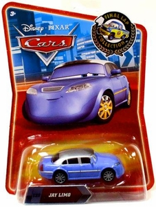 Disney / Pixar CARS Movie Exclusive 1:55 Die Cast Car Final Lap Jay Limo