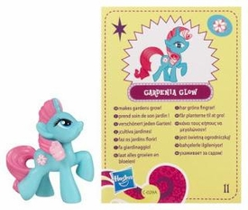 My Little Pony Friendship is Magic 2 Inch PVC Figure Series 4 Gardenia Glow