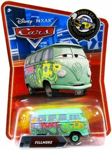 Disney / Pixar CARS Movie Exclusive 1:55 Die Cast Car Final Lap Fillmore