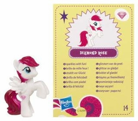 My Little Pony Friendship is Magic 2 Inch PVC Figure Series 4 Diamond Rose