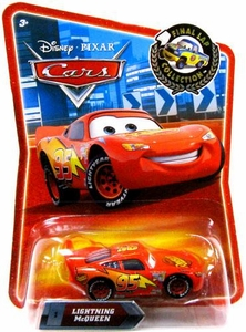 Disney / Pixar CARS Movie Exclusive 1:55 Die Cast Car Final Lap Lightning McQueen