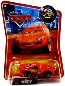 Disney / Pixar CARS Movie Exclusive 1:55 Die Cast Car Final Lap Wet Lightning McQueen