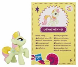 My Little Pony Friendship is Magic 2 Inch PVC Figure Series 4 Golden Delicious