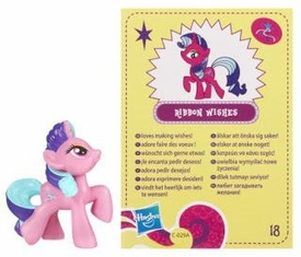 My Little Pony Friendship is Magic 2 Inch PVC Figure Series 4 Ribbon Wishes