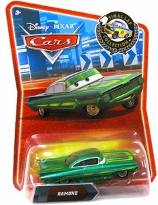 Disney / Pixar CARS Movie Exclusive 1:55 Die Cast Car Final Lap Green Ramone