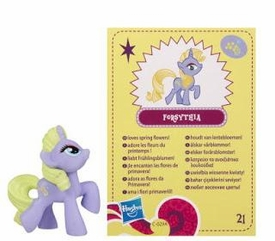 My Little Pony Friendship is Magic 2 Inch PVC Figure Series 4 Forsythia