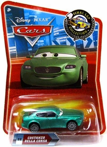 Disney / Pixar CARS Movie Exclusive 1:55 Die Cast Car Final Lap Costanzo Della Corsa
