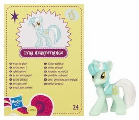 My Little Pony Friendship is Magic 2 Inch PVC Figure Series 4 Lyra Heartstrings
