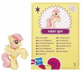My Little Pony Friendship is Magic 2 Inch PVC Figure Series 4 Sunny Rays