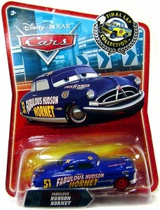 Disney / Pixar CARS Movie Exclusive 1:55 Die Cast Car Final Lap Fabulous Hudson Hornet