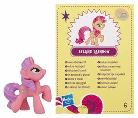 My Little Pony Friendship is Magic 2 Inch PVC Figure Series 4 Island Rainbow
