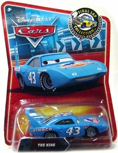 Disney / Pixar CARS Movie Exclusive 1:55 Die Cast Car Final Lap The King
