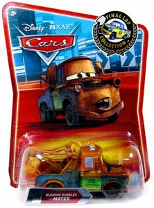 Disney / Pixar CARS Movie Exclusive 1:55 Die Cast Car Final Lap Blowing Bubbles Mater