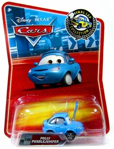 Disney / Pixar CARS Movie Exclusive 1:55 Die Cast Car Final Lap Polly Puddlejumper