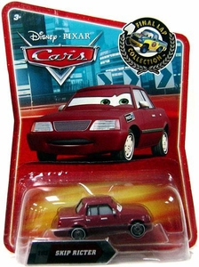 Disney / Pixar CARS Movie Exclusive 1:55 Die Cast Car Final Lap Skip Ricter