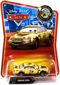 Disney / Pixar CARS Movie Exclusive 1:55 Die Cast Car Final Lap Donna Pits