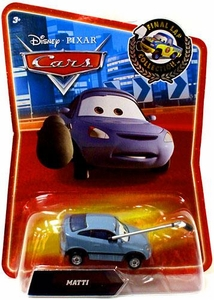 Disney / Pixar CARS Movie Exclusive 1:55 Die Cast Car Final Lap Matti