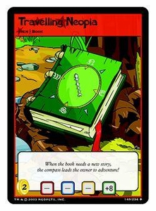 Neopets Trading Card Game Uncommon Single Card #149 Travelling Neopia