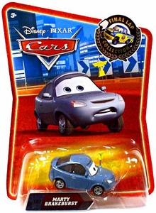 Disney / Pixar CARS Movie Exclusive 1:55 Die Cast Car Final Lap Marty Brakeburst