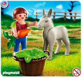 Playmobil Pony Ranch Set #4740 Girl with Foal