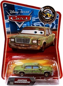 Disney / Pixar CARS Movie Exclusive 1:55 Die Cast Car Final Lap Jonathan Wrenchworths