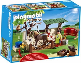 Playmobil Pony Ranch Set #5225 Horse Care Station