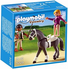 Playmobil Pony Ranch Set #5229 Equestrian Vaulting