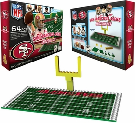 OYO Football NFL Generation 1 Team Field Endzone Set San Fransisco 49ers