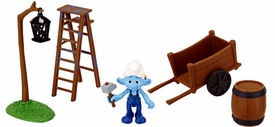 The Smurfs Movie Playset Movie Moment Adventure Pack Smurf Village Construction