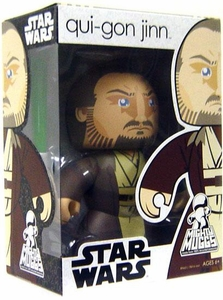 Star Wars Mighty Muggs 2009 Wave 1 Figure Qui-Gon Jinn