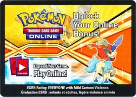 Pokemon Keldeo Tin Promo Code Card for Pokemon TCG Online