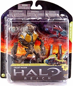 Halo Reach McFarlane Toys Series 4 Action Figure Grunt Major