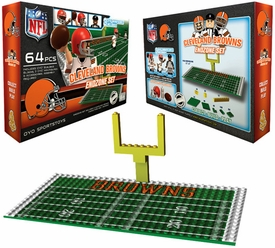 OYO Football NFL Generation 1 Team Field Endzone Set Cleveland Browns
